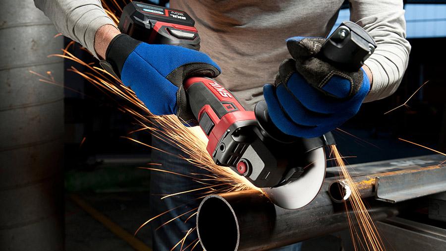 meuleuse sans fil Brushless AG1E 3930 SKIL